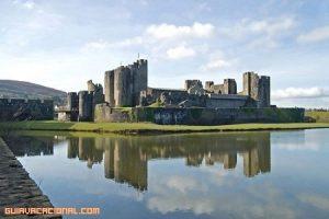 Castillo de Caerphilly en Gales
