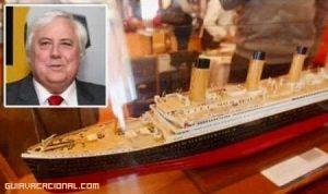 El Titanic II listo para zarpar en el año 2016
