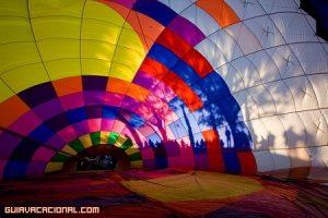 Viajar en globo