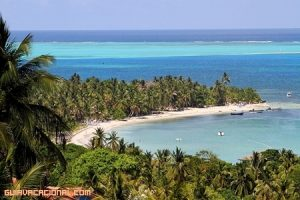 Isla de San Andrés en Colombia