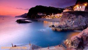 Fantásticas playas en la isla de Madeira