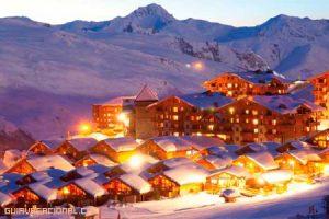 Vacaciones de invierno en Les Menuires