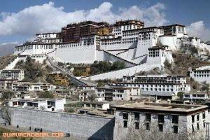 Visita al Palacio de Potala en China