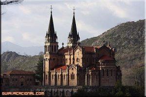 Visita a la Basílica de Covadonga