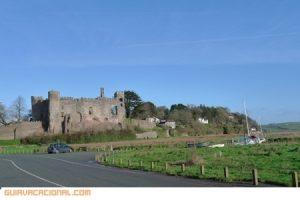 Castillo de Laugharne en Gales