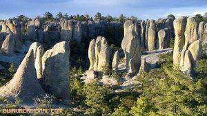 Visita el Valle de los Monjes en México